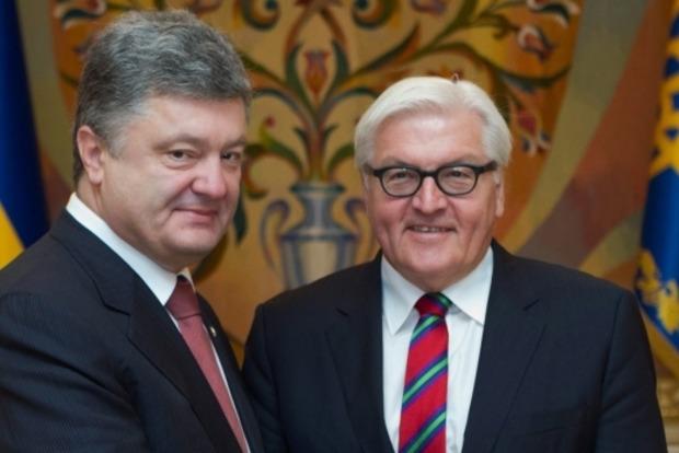 Главы МИД Германии и Франции приедут к Порошенко на следующей недели