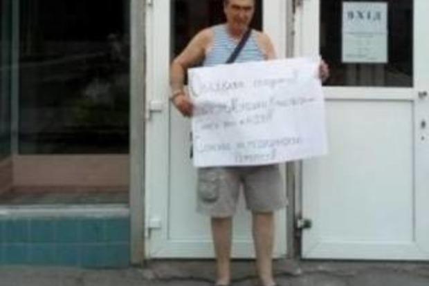 Помер ветеран АТО, який оголосив голодування через свавілля лікарів