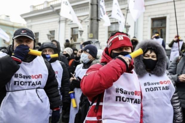 Полиция в Киеве перешла на усиленный режим работы