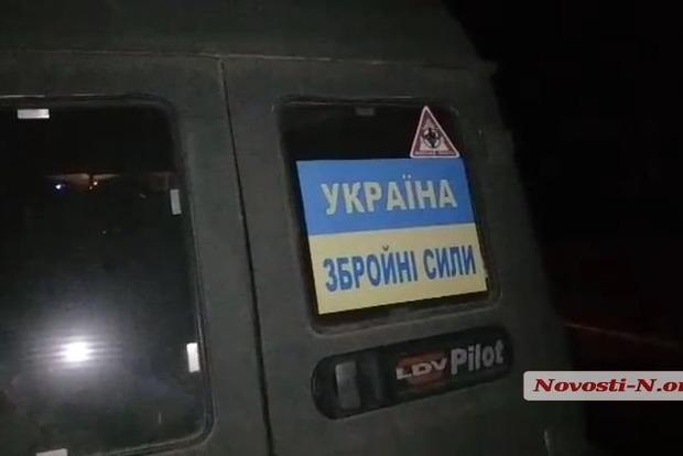 Патрульные стреляли, чтобы остановить пьяных военных в Николаеве
