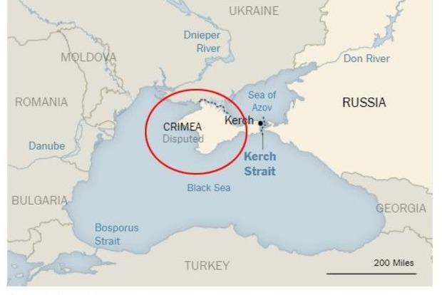 Оккупант - РФ: МИД отреагировал на спорный Крым в NYT