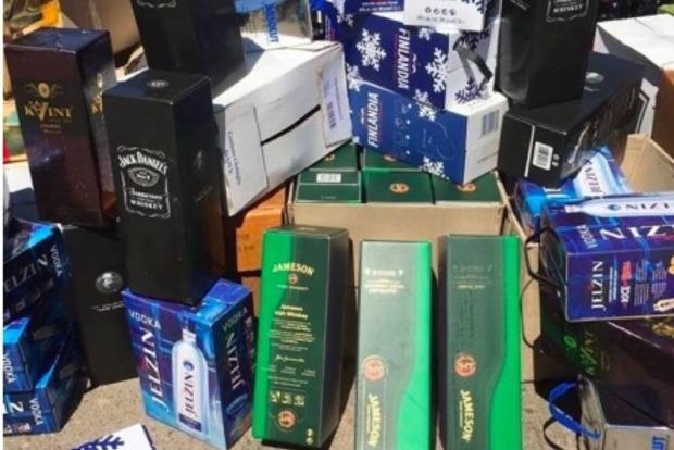 В Одессе «накрыли» подпольный цех по производству элитного алкоголя