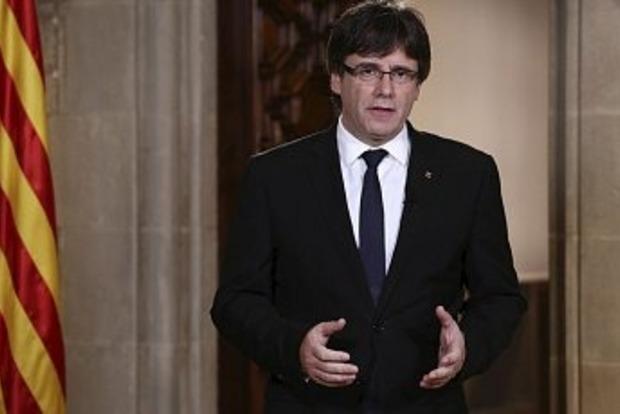 Екс-глава Каталонії Пучдемон здався поліція Бельгії