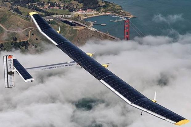 Самолет на солнечных батареях продолжил кругосветный полет