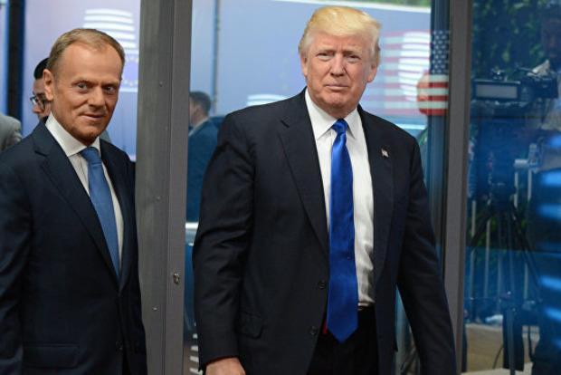 Туск заявил, что Трамп одного с ним мнения о конфликте на Донбассе