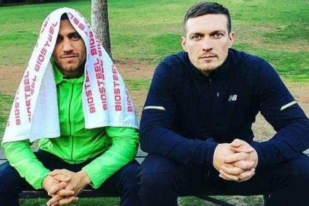 Здравству!й, брат! Александр Усик и Василий Ломаченко попали в Миротворец