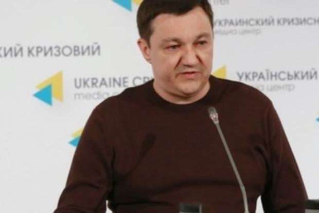 Тымчук: В Коминтерново появились российские наемники с шевронами Путина