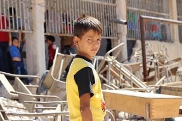 За неделю в Алеппо погибли 96 детей