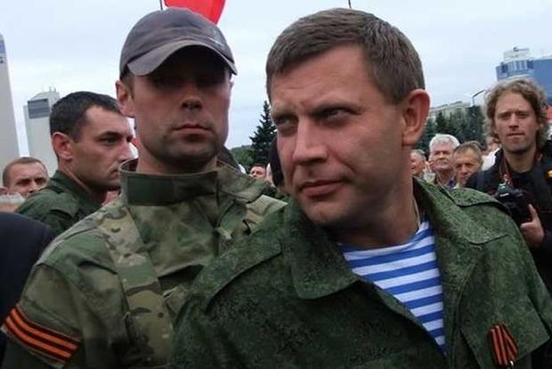 Главарь «ДНР» Захарченко прокомментировал задержание Рубана