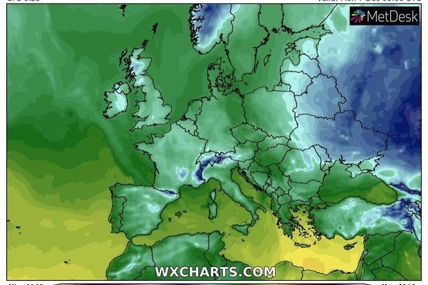 Синоптик рассказала про погоду в Украине на 7 декабря: мороз и шквальный ветер