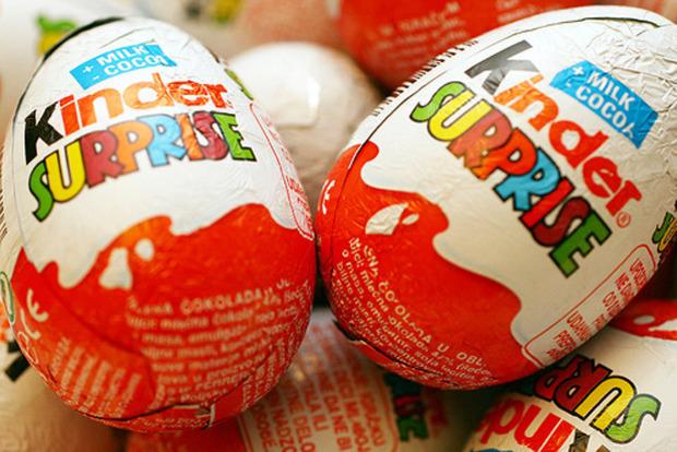 В США сняли запрет на яйца Kinder