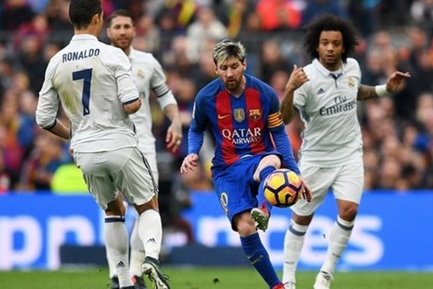 «Реал» вырвал ничью у «Барселоны»