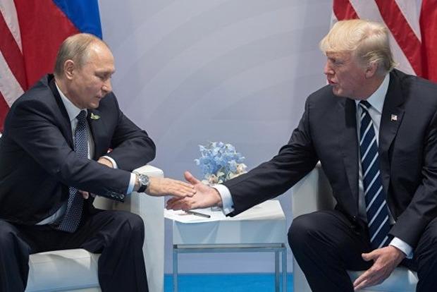 Путін анонсував телефонну розмову зТрампом