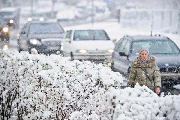 25-градусные морозы и интенсивные снегопады покинут Украину с 10 января - Гидрометцентр
