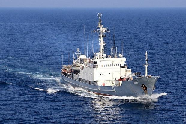Российские водолазы поднимают секретную аппаратуру с затопленного скотовозом судна «Лиман»