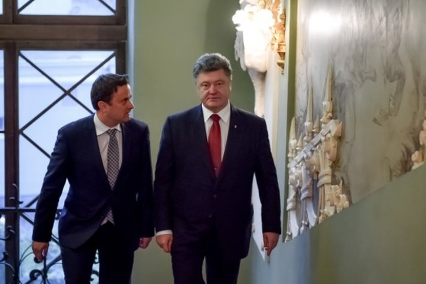 Порошенко намерен воспользоваться председательством Люксембурга в ЕС
