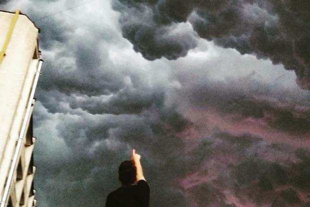 Undulatus asperatus: Над Тернополем сняли апокалиптические облака