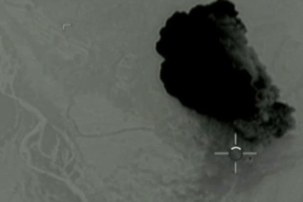 Опубликовано видео взрыва «матери всех бомб» в Афганистане