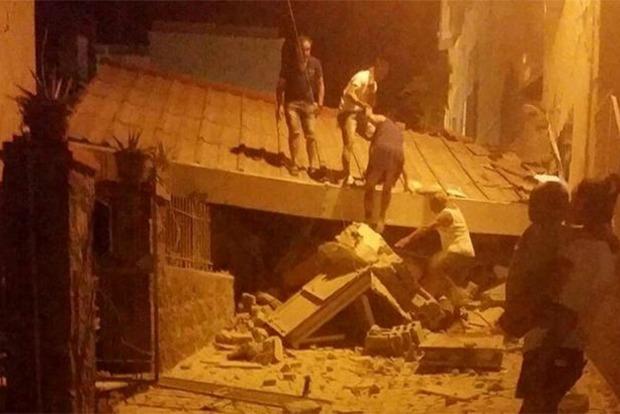 В результате землетрясений в Италии пострадали 39 человек