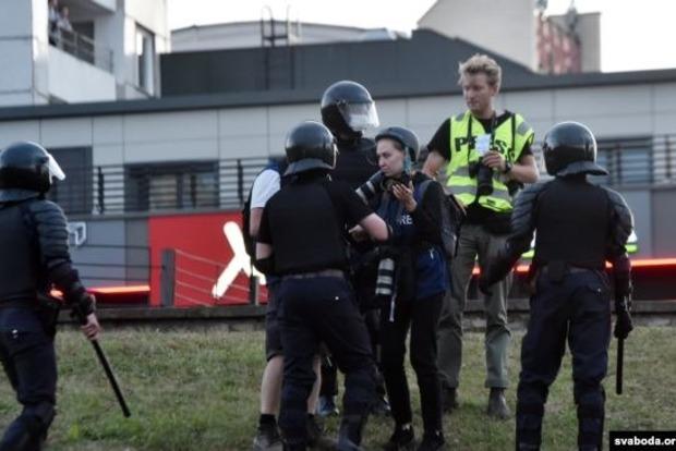 МВД Беларуси не рекомендует журналистам находиться в эпицентре столкновений