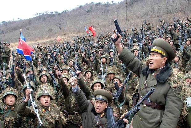 В КНДР угрожают нанести ядерные удары в случае агрессии США