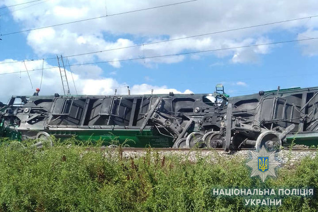 У вагонів відривало колеса: Серйозна аварія на залізниці в Одеській області