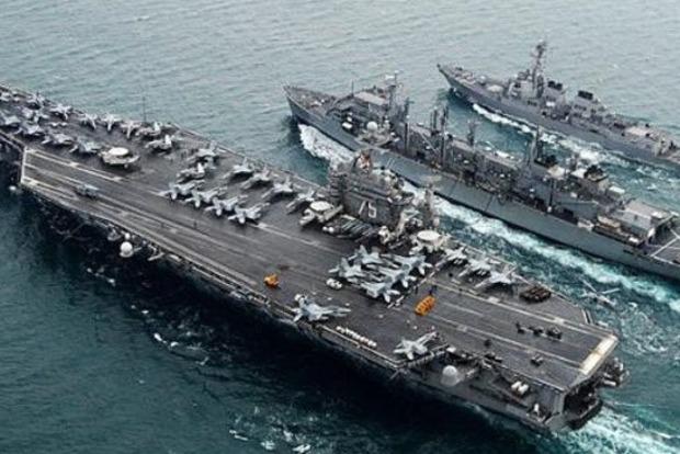 Для поддержки союзников: в Средиземное море вошли авианосцы США