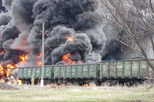 Пожар на станции в Краснодоне сорвал учения боевиков