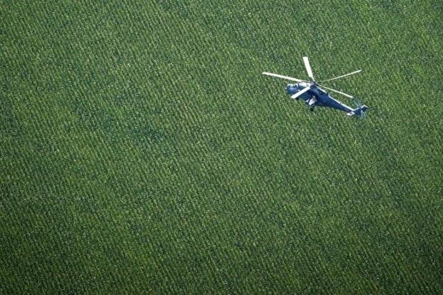 В Мексике потерпел крушение военный вертолет