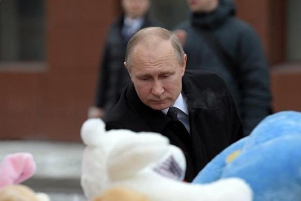 Путин уже назвал причины пожара в Кемерове