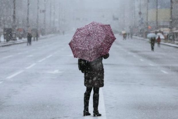 В Украину идет похолодание, возможен снег
