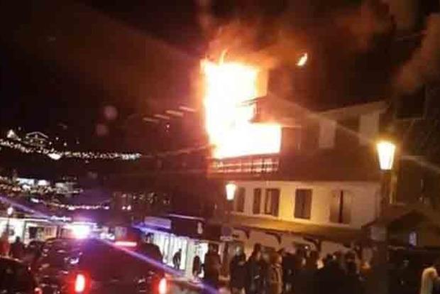 Пожар на курорте Куршевель: два человека погибли, 14 пострадали
