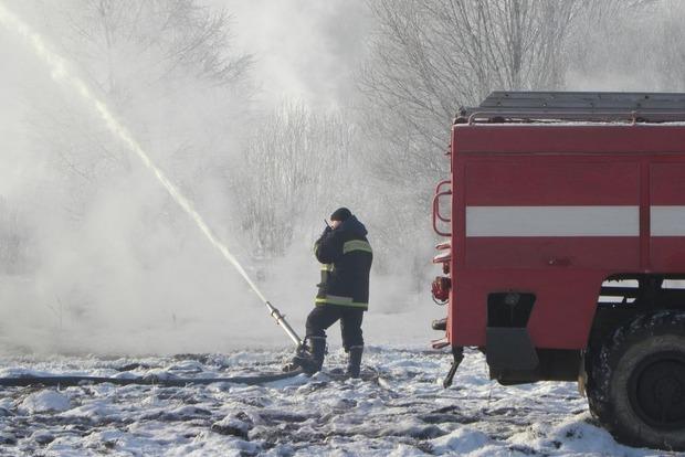В Полтавской области почти потушили торфяники