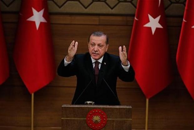 Эрдоган переформулировал цель военной операции в Сирии