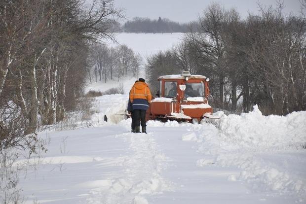 Дороги Полтавщины открыли для въезда
