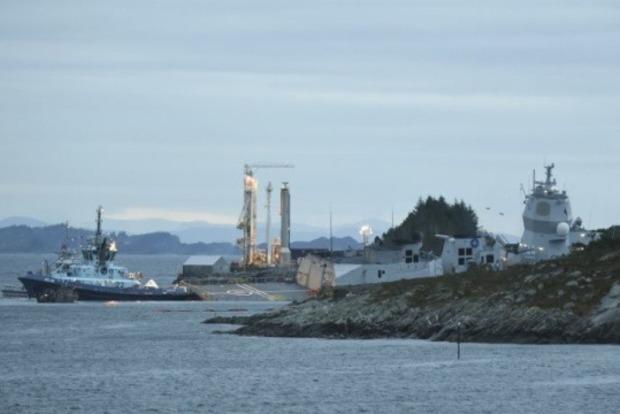 У берегов Норвегии танкер потопил натовский фрегат