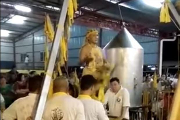 Малайзийский шаман сварился живьем вовремя религиозного обряда