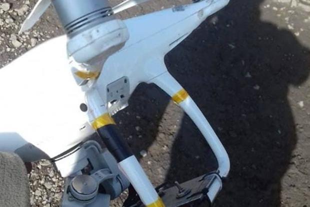 На Донбассе сбили дрон оккупантов