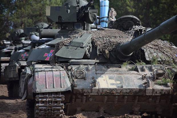 Наблюдатели ОБСЕ зафиксировали передвижение танков возле Луганска
