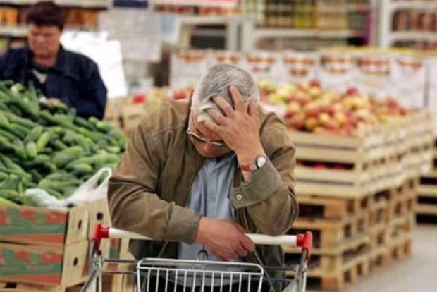 Первые вевропейских странах : Украина обогнала всех поросту подорожания продуктов