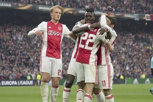 «Аякс» положил на обе лопатки «Лион» в полуфинале Лиги Европы