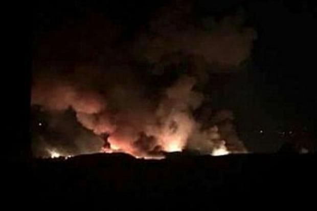 Сирия обвинила Израиль в обстреле аэродрома в Дамаске