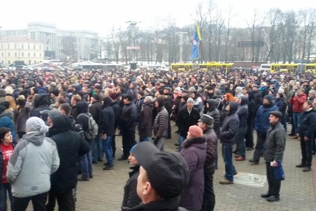 В Минске начался «Марш рассерженных белорусов» против закона «о тунеядстве»
