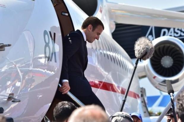 Во Франции задержали банду, планировавшую убить Макрона