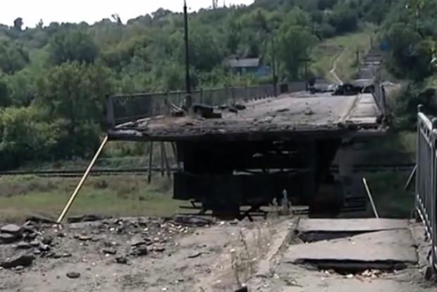 В сентябре откроют мост между Северодонецком и Лисичанском