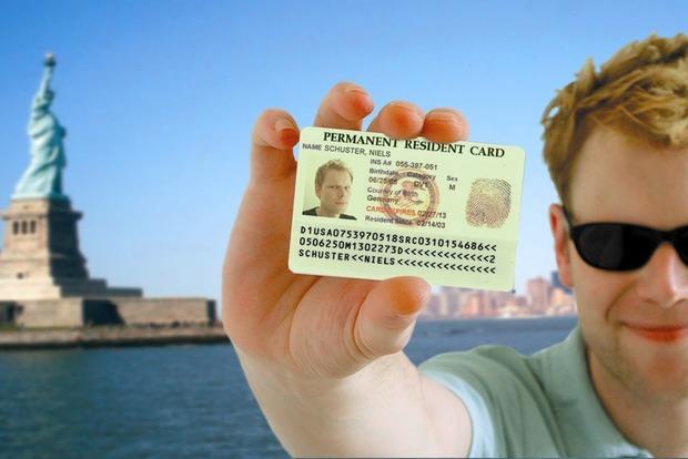 Д.Трамп желает поменять правила получения Green Card