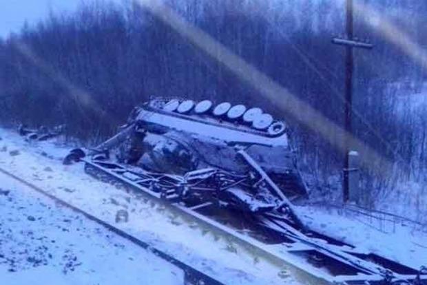 Пофакту схода срельс вагонов вОмской области возбуждено уголовное дело