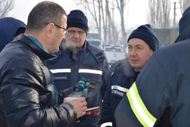В ГСЧС рассказали о состоянии раненого в Авдеевке спасателя