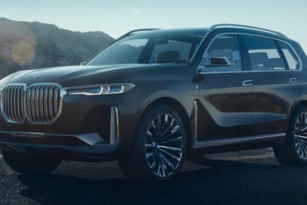 Гигантский внедорожник BMW рассекретили до премьеры