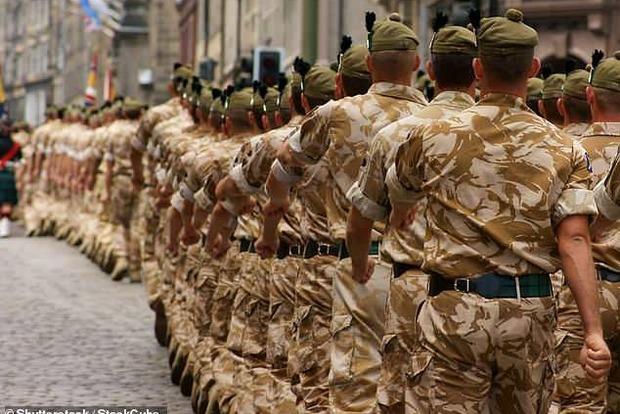Названий катастрофічний відсоток ожиріння в британській армії